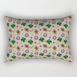 Minimalist Cthulhu based Pattern Rectangular Pillow