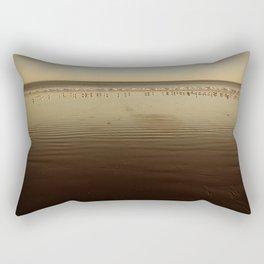 Seagulls on the Horizon Rectangular Pillow