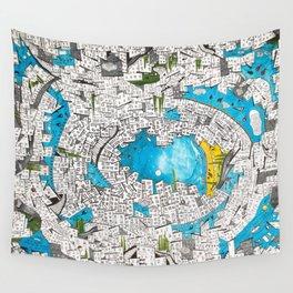 Velvet Chaos Wall Tapestry