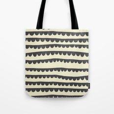 Scalloped Garland Tote Bag