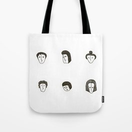 The small faces Tote Bag