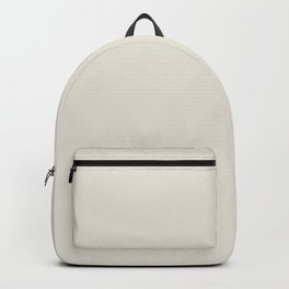 Off White Solid Color Pairs To Behr's 2021 Trending Color Smoky White BWC-13 Backpack