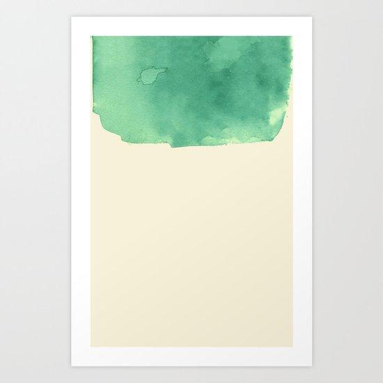 watercolor a. Art Print