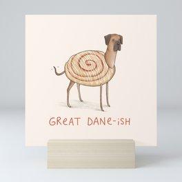 Great Dane-ish Mini Art Print