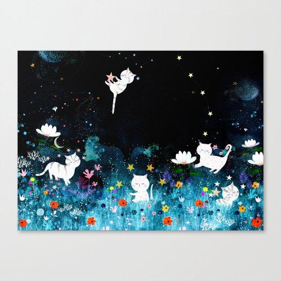 colourful night Canvas Print