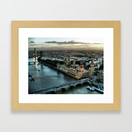London - Palace Of Westminster Framed Art Print