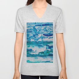 Cabo Beach Mexico Watercolor #2 Unisex V-Neck