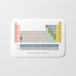 Moden Periodic Table Bath Mat