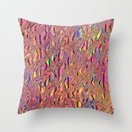 All Colors of the Rainbow Throw Pillow