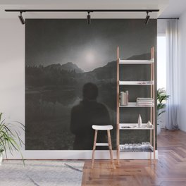 Hypnotized by the Moon II Wall Mural