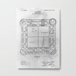 First Monopoly Metal Print