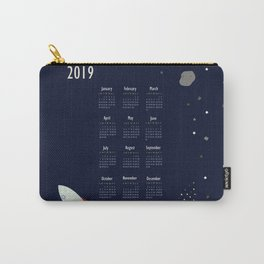 2019 Outer Space Calendar Carry-All Pouch