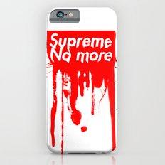 Supreme No More Slim Case iPhone 6