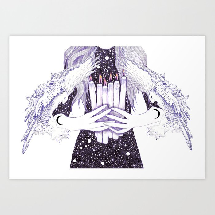 Nightwalker Art Print