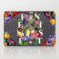 feminist iPad Cases featuring Feminist by Samwise