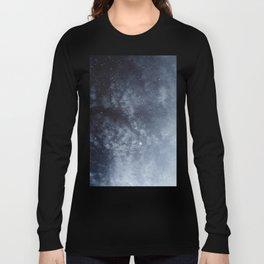Blue veiled moon Long Sleeve T-shirt