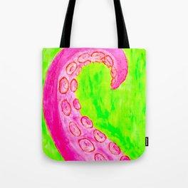 Pink Tentacle Tote Bag