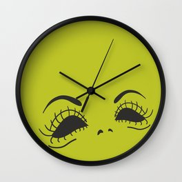 Madame Monstre Wall Clock