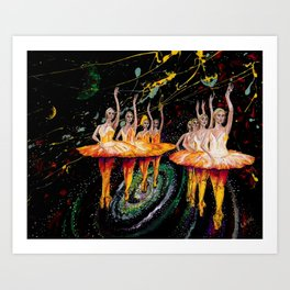 When the stars come out remix Art Print