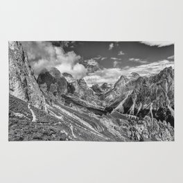 mountains, the Dolomites in South Tyrol Rug