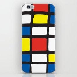 Mondrian Variation 1 iPhone Skin