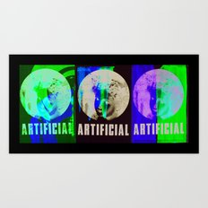 Artificial Art Print