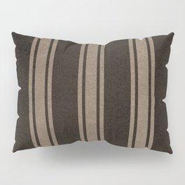 Dark line pattern Pillow Sham