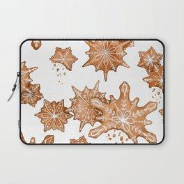Gingerbread Cookie Blizzard Laptop Sleeve