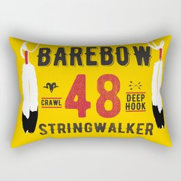 - BAREBOW - STRINGWALKER - CRAWL - DEEP HOOK - 48 (Forever) Rectangular Pillow