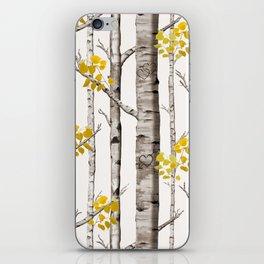 Birch Love iPhone Skin