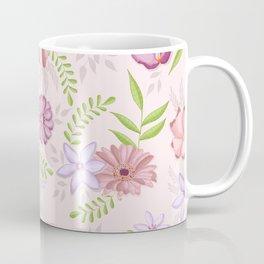Spring flowers with vibrant greenery Coffee Mug