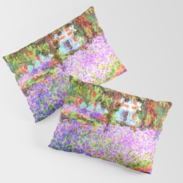 Monets Garden in Giverny Pillow Sham