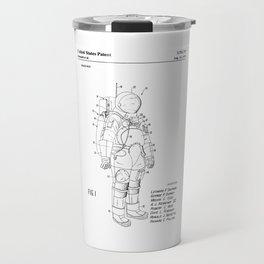 NASA Space Suit Patent Travel Mug