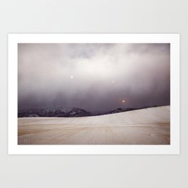 Explorations with Space: No. 6 Art Print