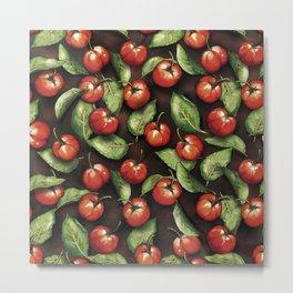 Fruit Acerola Pattern Metal Print