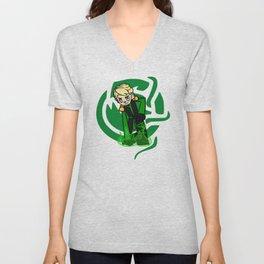 Green Lloyd Unisex V-Neck
