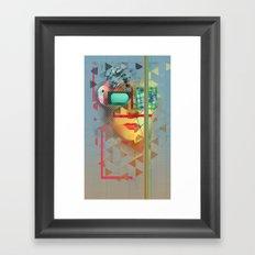 Warped Vision Framed Art Print