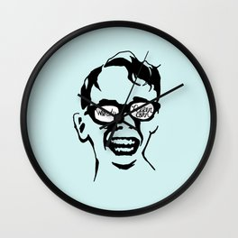 Oiling and Lotioning, Lotioning and Oiling Wall Clock