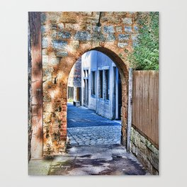 Rothenburg 7 Canvas Print