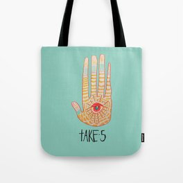 TAKE 5 Tote Bag