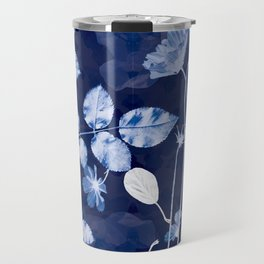Flora Cyanotype Travel Mug