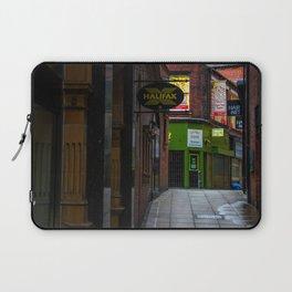 An alleyway in Leeds (UK) Laptop Sleeve