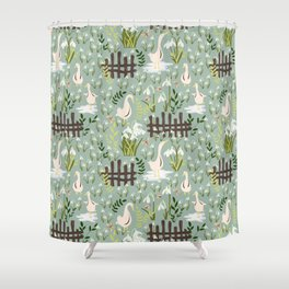 Beyond That Fence Shower Curtain