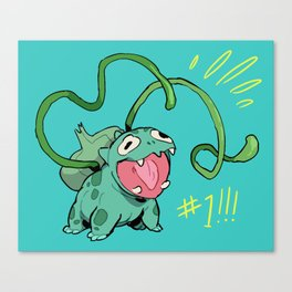VINE WHIP Canvas Print