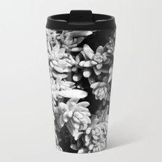 Succulent circle Metal Travel Mug