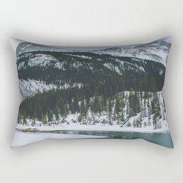 Spray Lakes, Canmore IV Rectangular Pillow