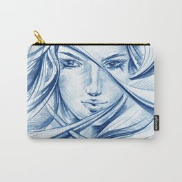 Her eyes_2 Carry-All Pouch
