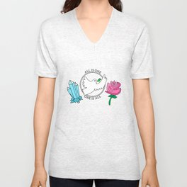 All is One, One is All Unisex V-Neck