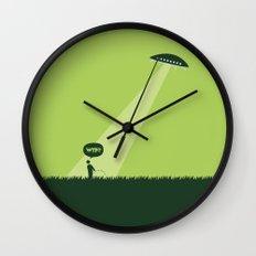 WTF? Ovni! Wall Clock
