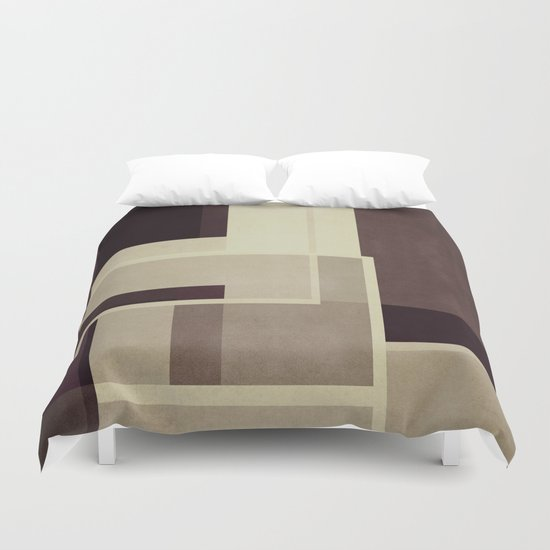 Abstract #117 Duvet Cover